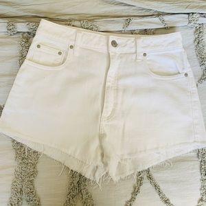Aritzia Denim Shorts